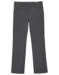 Classroom Uniforms Girls Plus Stretch Matchstick Leg Pant Slate Gray (51283A-SLATE)