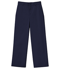 Classroom Uniforms Girls Stretch Flat Front Pant Dark Navy (51941AZ-DNVY)