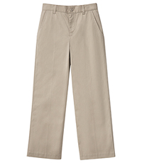 Classroom Uniforms Girls Stetch Flat Front Pant Khaki (51942AZ-KAK)