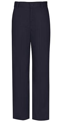 Classroom Uniforms Flat Front Slim Elastic Trouser Pant Dark Navy (51942SE-DNVY)