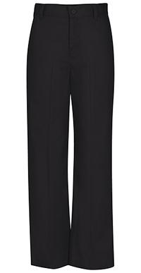 Girls Adj. Waist Flat Front Trouser