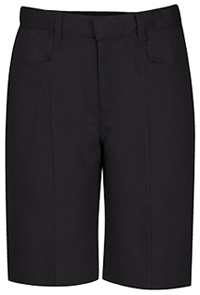 Classroom Uniforms Girls Low-Rise Adjustable Waist Short Black (52071A-BLK)