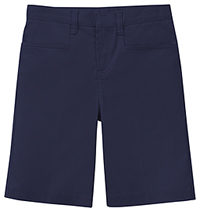 Classroom Uniforms Girls Adj. Waist Stretch Low Rise Short Dark Navy (52072AZ-DNVY)