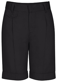 Classroom Juniors Pleat Front Short (52114-BLK) (52114-BLK)