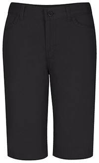 Classroom Uniforms Girls Stretch Matchstick Short Black (52221-BLK)