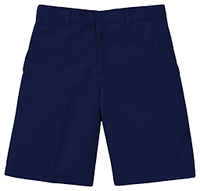 Classroom Uniforms Preschool Unisex Flat Front Short Dark Navy (52360-DNVY)