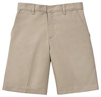 Classroom Uniforms Boys Slim Adj. Waist Flat Front Short Khaki (52362S-KAK)