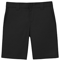 Classroom Uniforms Boys Stretch Slim Fit Shorts Black (52482A-BLK)