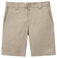Classroom Uniforms Boys Husky Stretch Slim Fit Short Khaki (52483A-KAK)