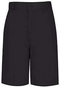 Classroom Uniforms Girls Adj. Waist Flat Front Short Black (52942-BLK)