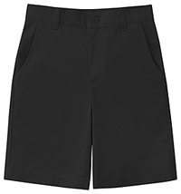 Classroom Uniforms Girls Plus Stretch Flat Front Short Black (52943AZ-BLK)