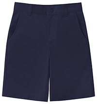 Classroom Uniforms Girls Plus Stretch Flat Front Short Dark Navy (52943AZ-DNVY)