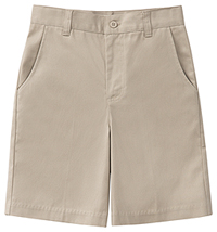 Classroom Uniforms Junior Stretch Flat Front Short Khaki (52944Z-KAK)