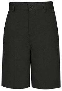 Classroom Uniforms Missy Flat Front Short Black (52945-BLK)