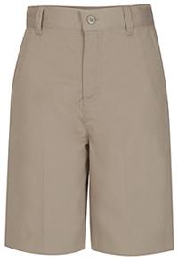 Classroom Uniforms Missy Flat Front Short Khaki (52945-KAK)