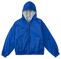 Classroom Uniforms Youth Unisex Zip Front Bomber Jacket Royal (53402-ROY)