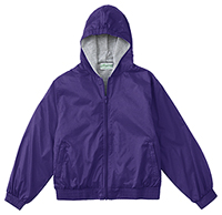 Classroom Uniforms Adult Unisex Zip Front Bomber Jacket Dark Purple (53404-DKPR)