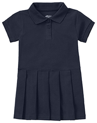 Classroom Uniforms Toddler S/S Pique Polo Dres Dark Navy (54120-DNVY)