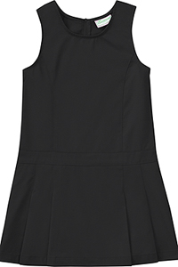 Classroom Uniforms Girls Plus Pleated Jumper Black (54143-BLK)