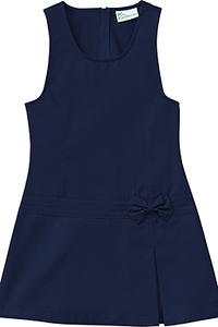 Classroom Uniforms Preschool Girls Zig-Zag Jumper Dark Navy (54220-DNVY)