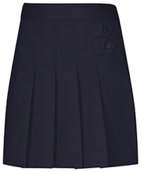 Classroom Uniforms Girls Pleated Tab Scooter Dark Navy (55121-DNVY)
