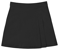 Classroom Girls Stretch Double-Pleated Scooter (55271A-BLK) (55271A-BLK)