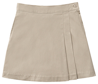 Classroom Uniforms Girls Stretch Double-Pleated Scooter Khaki (55271A-KAK)