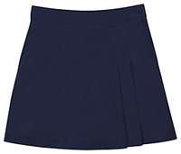 Classroom Uniforms Girls Stretch Double-Pleated Scooter Dark Navy (55273A-DNVY)