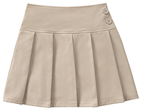 Classroom Uniforms Girls All Over Pleated Scooter Khaki (55421A-KAK)
