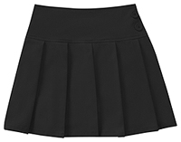 Classroom Uniforms Girls All Over Pleated Scooter Black (55422A-BLK)