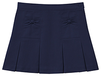 Classroom Uniforms Girls Stretch Bow Pocket Scooter Dark Navy (55982AZ-DNVY)