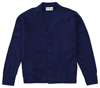 Classroom Uniforms Toddler Unisex Cardigan Dark Navy (56430-DNVY)