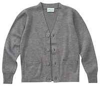 Adult Unisex Cardigan Sweater (56434-HGRY)