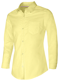 Classroom Uniforms Junior Long Sleeve Oxford Shirt Yellow (57514-YEL)