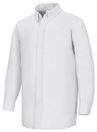 Classroom Uniforms Boys Long Sleeve Oxford Shirt White (57651-WHT)