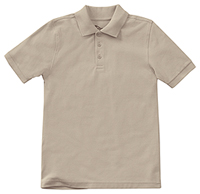 Classroom Youth Unisex Short Sleeve Pique Polo (58322-KAK) (58322-KAK)