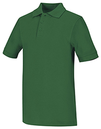 Adult Unisex Short Sleeve Pique Polo