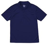 Adult Unisex Moisture-Wicking Polo Shirt (58604-SSNV)