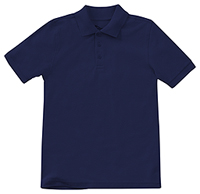 Classroom Uniforms Preschool Unisex Short Sleeve Pique Polo Dark Navy (58990-DNVY)