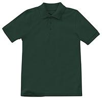 Classroom Uniforms Preschool Unisex SS Pique Polo SS Hunter Green (58990-SSHN)