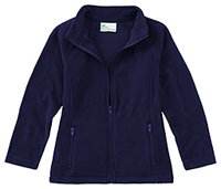Junior Fitted Polar Fleece Jacket
