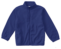 Classroom Uniforms Youth Unisex Polar Fleece Jacket Royal (59202-ROY)