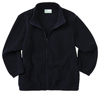 Classroom Uniforms Adult Unisex Polar Fleece Jacket Dark Navy (59204-DNVY)