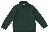 Classroom Uniforms Youth Unisex Polar Fleece Pullover Hunter Green (59302-HUN)