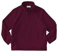 Classroom Uniforms Adult Unisex Polar Fleece Pullover Burgundy (59304-BUR)