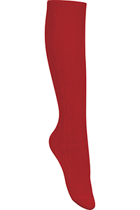 Classroom Uniforms Girls/Juniors Cable Knee Hi Socks 3 PK Red (5HF102-RED)