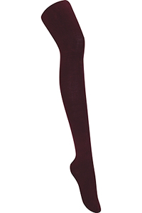 Classroom Uniforms Girls Flat Tights Single Pack Burgundy (5HF201-BUR)