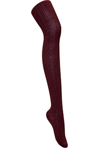 Classroom Uniforms Girls Cable Knit Tights Burgundy (5HF301-BUR)