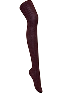 Classroom Uniforms Juniors Cable Knit Tights Burgundy (5HF302-BUR)