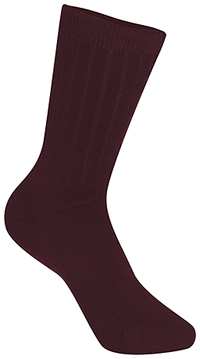 Unisex Rib Crew Socks 3 PK